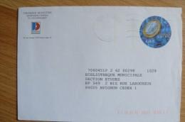 France - Entier Postal 3402-E10 Oblitéré - En-tête Premier Ministre  Journaux Officiels - PAP : Altri (1995-...)
