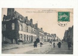 Pontorson L´hotel De L´ouest Ancien Montgomery Cpa Bon état - Pontorson