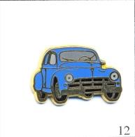 Pin´s Automobile - Peugeot / Modèle 203 Version Bleue. Estampillé Ballard. Zamac. T375-12 - Peugeot