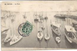 ROYAN - 17 - Une Vue De Bateaux Dans Le Port - ENCH175 - - Royan