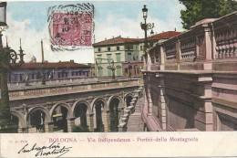 BOLOGNA  - ITALIE - Via Indipendenza - Portici Della Montagnola - ENCH175 - - Bologna