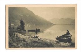 (4476-74) Angon - Le Petit Lac Et Montagne Des Bauges - Autres Communes