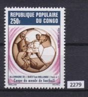 CONGO 1974, FOOTBALL, SOCCER, MUNCHEN 1974, WORLD CUP, Mi: 416, MNH - Coppa Del Mondo