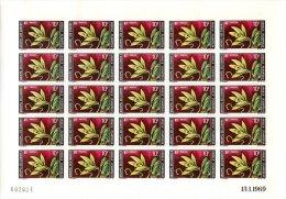 ARCHIPEL DES COMORES PLANCHE DE 25 TIMBRES NON DENTELES POSTE N°53 ET N°54 - Komoren (1950-1975)