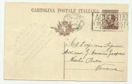 CARTOLINA POSTALE ITALIANA PADOVA 1925 - Trade