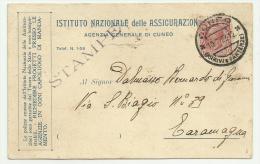 ISTITUTO NAZIONALE ASSICURAZIONI 10-07-1923 F.P. - Commerce
