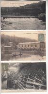BOUGIVAL 78  - Le Barrage Et La Machine élevant L'eau ... Petit Lot De 3 CPA - Yvelines - Bougival