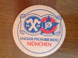 Sous Bock Bière Hackerbrau Munchen - Sous-bocks