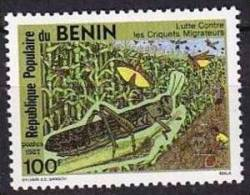 BENIN: INSECTES,insecte. Yvert N°656 **  Neuf Sans Charniere (MNH)  Criquet - Non Classés