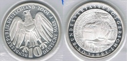 ALEMANIA 10 DEUTSCHE MARK F 2001 PLATA SILVER - [ 7] 1949-… : FRG - Fed. Rep. Germany