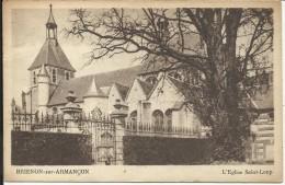 BRIENON SUR ARMANCON , L' Eglise Saint Loup - Brienon Sur Armancon