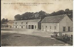 Maison De Retraite Des Mutilés De VILLE LEBRUN Par Dourdan , Les Bâtiments De La Ferme , CPA ANIMEE - France