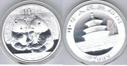CHINA 10 YUANG  OUNCE  PANDA 2009 PLATA SILVER - China