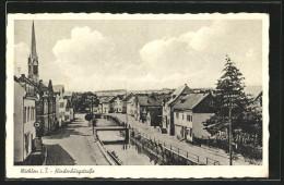 AK Miehlen, Hindenburgstrasse - Germania