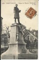 SAINT MAUR , Statue De Maurice Bertheaux , 1928 - Saint Maur Des Fosses