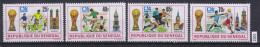 SENEGAL 1974, FOOTBALL, SOCCER, MUNCHEN 1974, WORLD CUP, Mi: 553 - 556, MNH, Cpl. Set - Coppa Del Mondo