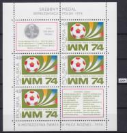 POLAND 1974, FOOTBALL, SOCCER, MUNCHEN 1974, WORLD CUP, Mi: BLOCK 60, MNH, Cpl. Set - Coppa Del Mondo