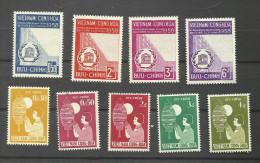 Viet-Nam Du Sud N°81 à 84, 89 à 93 Neufs** Cote 3.95 Euros - Viêt-Nam