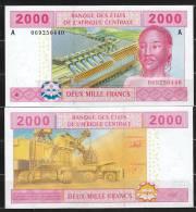 GABON  (Central African States ) : 2000 Francs - 408A - UNC - Gabon