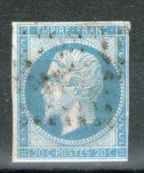 N° 14° Type I_Bleu/vert???_voir Scan - 1853-1860 Napoléon III.
