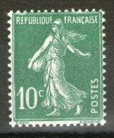 N°159**_type III - 1906-38 Semeuse Camée