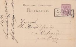 DR Ganzsache R3 Lauenstein In Hannover 4.11.78 - Deutschland