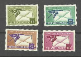 Viet-Nam Du Sud Poste Aérienne N°11 à 14 Neufs** Cote 6.25 Euros - Vietnam