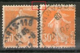 2 N° 141°_2 Nuances_2 Tailles_voir Scan - 1906-38 Säerin, Untergrund Glatt