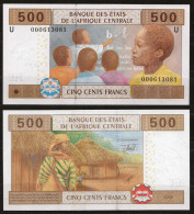 CAMERUN  (Central African States ) : 500 Francs - 206U - UNC - Gabun