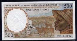 CENTRAL AFRICAN REPUBLIQUE (Central African States) : 500 Francs  - 1993-2000 - P301F -  UNC - Centrafricaine (République)