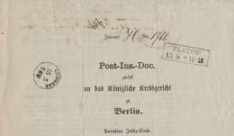 Preussen Brief R2 Flatow 13.5.1862 Ansehen !!!!!!!!!!!!! - Preussen