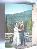 Montenegro People In Nice Costumes - Montenegro