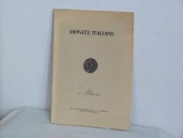 CATALOGUE DE VENTE. MONETE ITALIANE NOVEMBRE 1981. - Italienisch