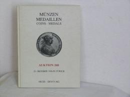 CATALOGUE DE VENTE. MUNZEN MEDAILLEN COINS. MEDALS. OKTOBER 1996 - Magazines: Abonnements