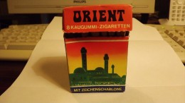 VATU GUM CIGARETTES INTEGRAL BOX  - ORIENT - COUNTRIES SERIE - ABOUT 1980 - Other Collections