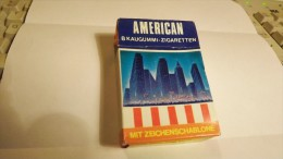 VATU GUM CIGARETTES INTEGRAL CLOSED BOX  - # AMERICAN - COUNTRIES SERIE - ABOUT 1980 - Other Collections