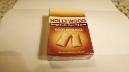 HOLLYWOOD BUBBLE GUM SEALED PACKET - GOUT REGLISSE - ABOUT 1980 - Other Collections