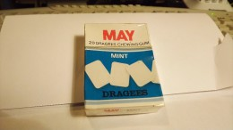 MAY BUBBLE GUM SEALED PACKET - MENTHE  - FRANCE ABOUT 1980 - Other Collections