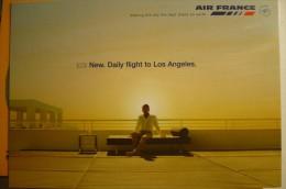 AIRLINE ISSUE / CARTE COMPAGNIE   AIR FRANCE - 1946-....: Era Moderna