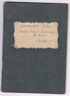 WWII - 1940, Journal D'un Déporté En Allemagne, Jules Francart, Firma Paul Saalman & Sohn, Velbert - Voir Scans - 1939-45