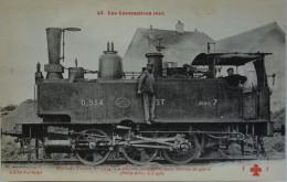 CPA Trains / Les Locomotives Est Machine  Tender N° 934 (C 1010) - 5 - 99 Karten