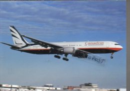 Boeing 767-375 EU Aircraft Canadian Airlines B 767 Avion Aviation B767 Airplane B-767 Luft Canada Air - 1946-....: Moderne
