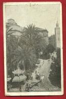 XBP-06 Djamaa El Kebir Palmiers De La Régence. Attelage. Circulé Sous Enveloppe. Trous De Punaises. - Algérie