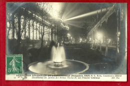 XBP-27 Exposition Décennale De L'Automobile Novembre 1907 Avenue Icolas-II, Fontaine Lumineuse. Circulé - Cartes Postales
