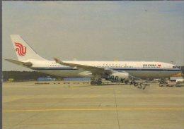 Airbus A330-243B Aircraft Air China Airlines A 330 Avion Aviation A330 Airplane A-330 Luft - 1946-....: Era Moderna