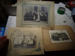 Photos De Conscrits Et Mariage à Lagnieu Classe 1925 Restaurant Violland : Baton De Tambour Major : Photographe Gaymard - Altri
