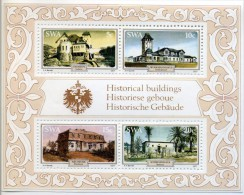 SWA - 1977 Historical Buildings MiCHEL. Bl. 3 MNH LUXE ** - Blocs-feuillets