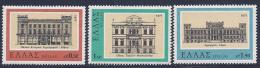 Greece, Scott # 1220-2 MNH Architecture, 1977 - Unused Stamps