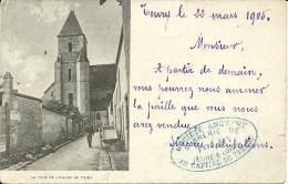 TOURY - La Tour De L'église - Other Municipalities