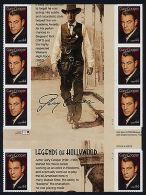 USA 4421 Gutter Block MNH Gary Cooper - United States